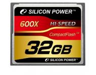 Карта памяти CompactFlash 32 Gb Silicon Power 600х фото 1