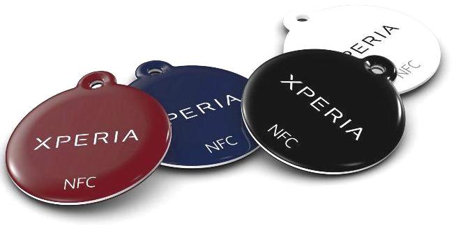 Беспроводные NFC метки Sony NT1 Xperia SmartTags (4шт.)