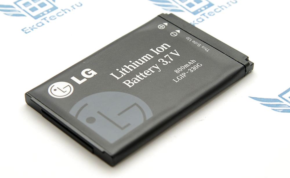 Аккумулятор oem фирменный LGIP-330GP для LG KF300 800 mAh