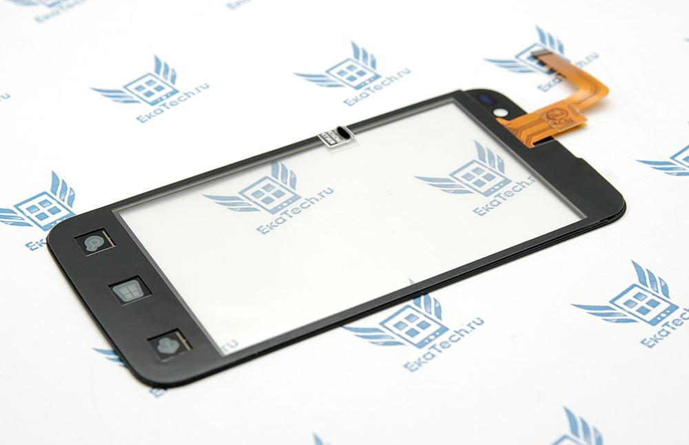 Тачскрин (сенсорное стекло) для Highscreen WinWin черный
