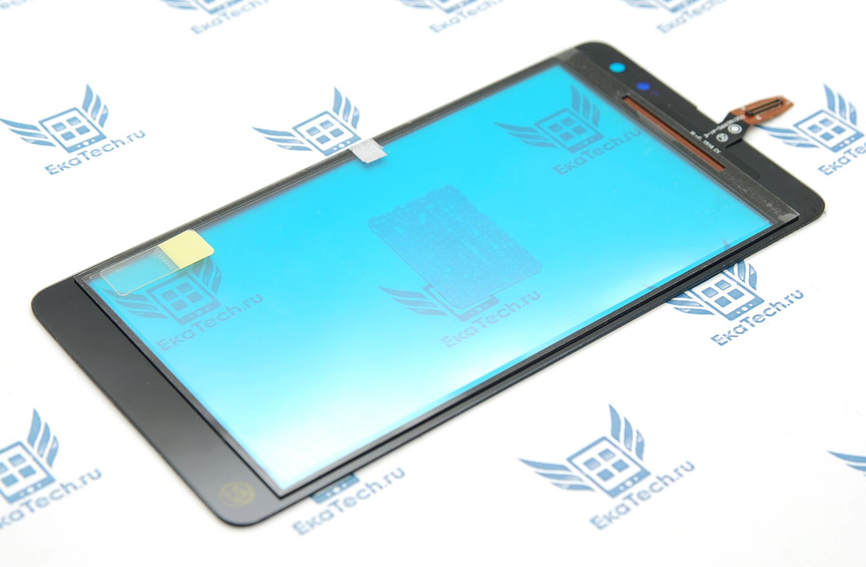 Тачскрин (сенсорное стекло) Microsoft Nokia 535 (RM-1090) (CT2C1607FPC) Lumia Dual Sim черный