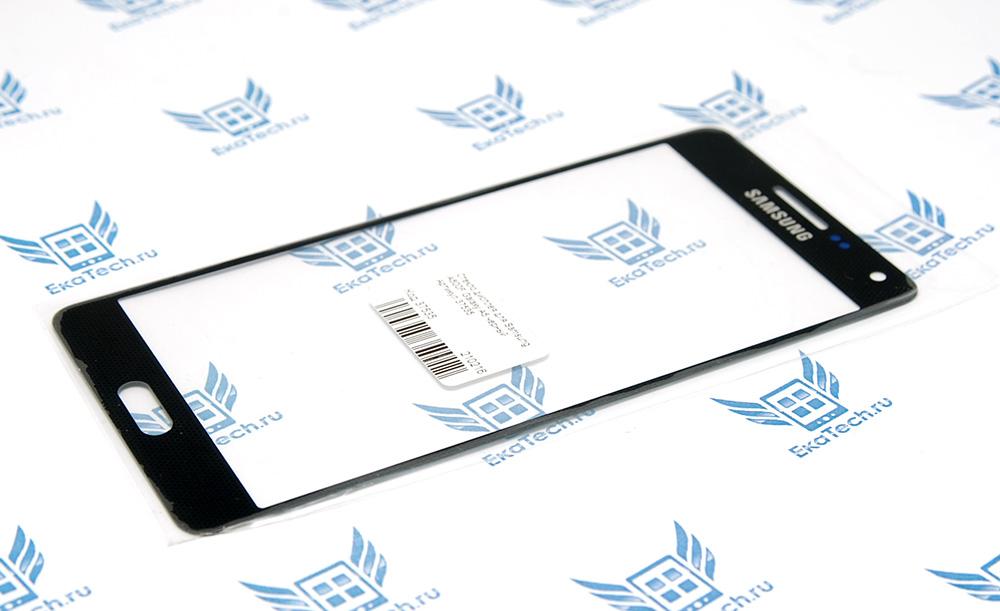 Стекло верхнее для дисплея Samsung Galaxy A500F Galaxy A5 (2015) черное