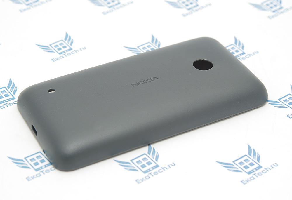 Задняя крышка Nokia Lumia 530 (RM-1090) серого цвета