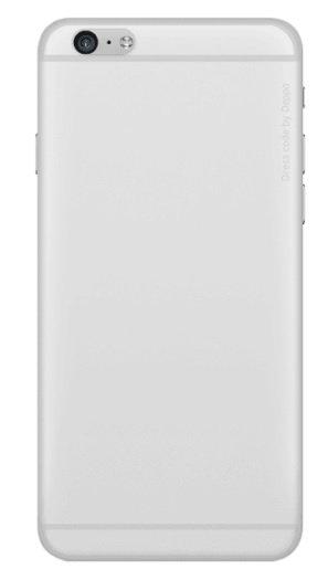 Накладка Deppa Sky Case для iPhone 6/6s 0.4мм прозрачная (арт.86012)