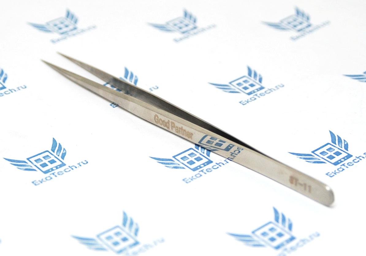 Пинцет Good Partner ST-11 (14см) прямой