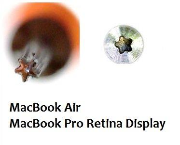 Отвертка для Macbook 1.2x25мм 658 Good Partner (пятиконечная звезда)