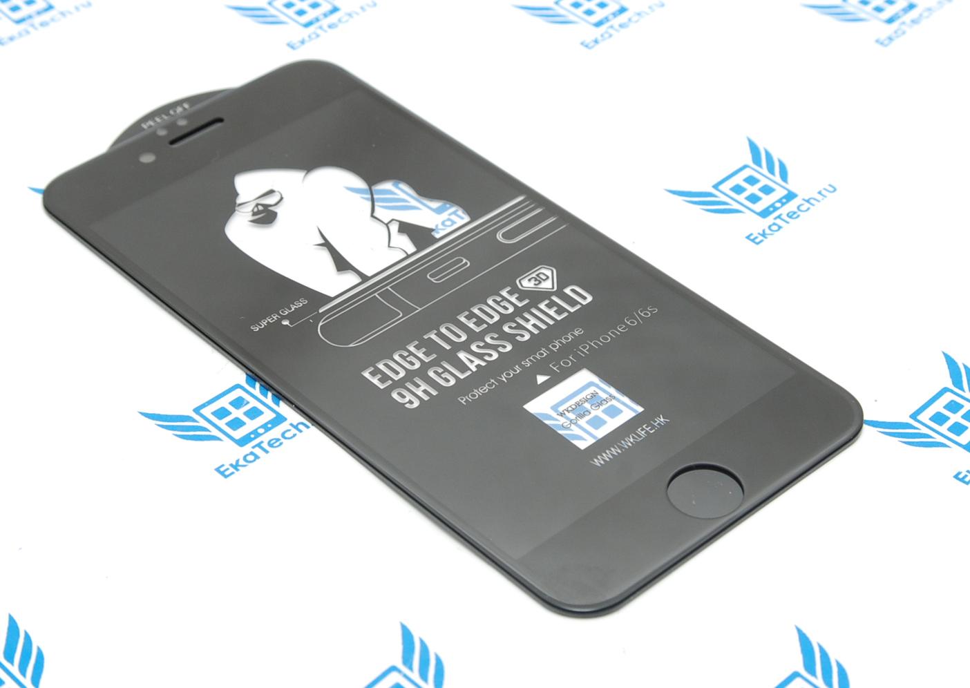 Защитное стекло WK Design Kingkong 3D для Apple iPhone 6 / 6s черное