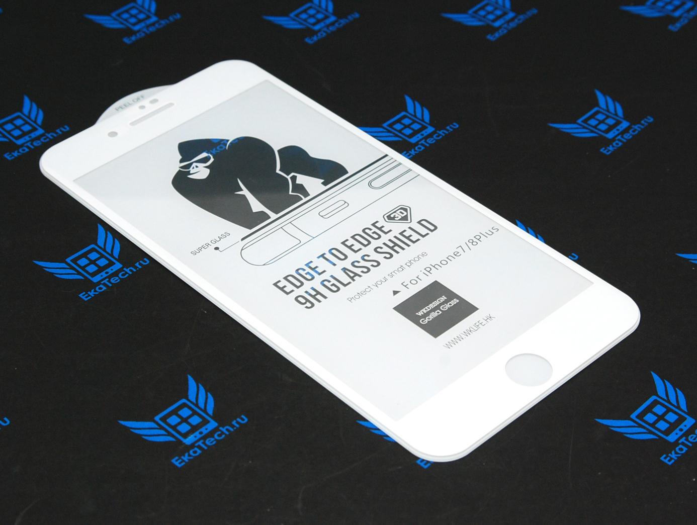 Защитное стекло WK Design Kingkong 3D для Apple iPhone 6 / 6s белое