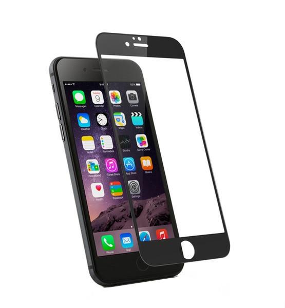 Защитное стекло 3D Horse для Apple iPhone 6S / 6, черное