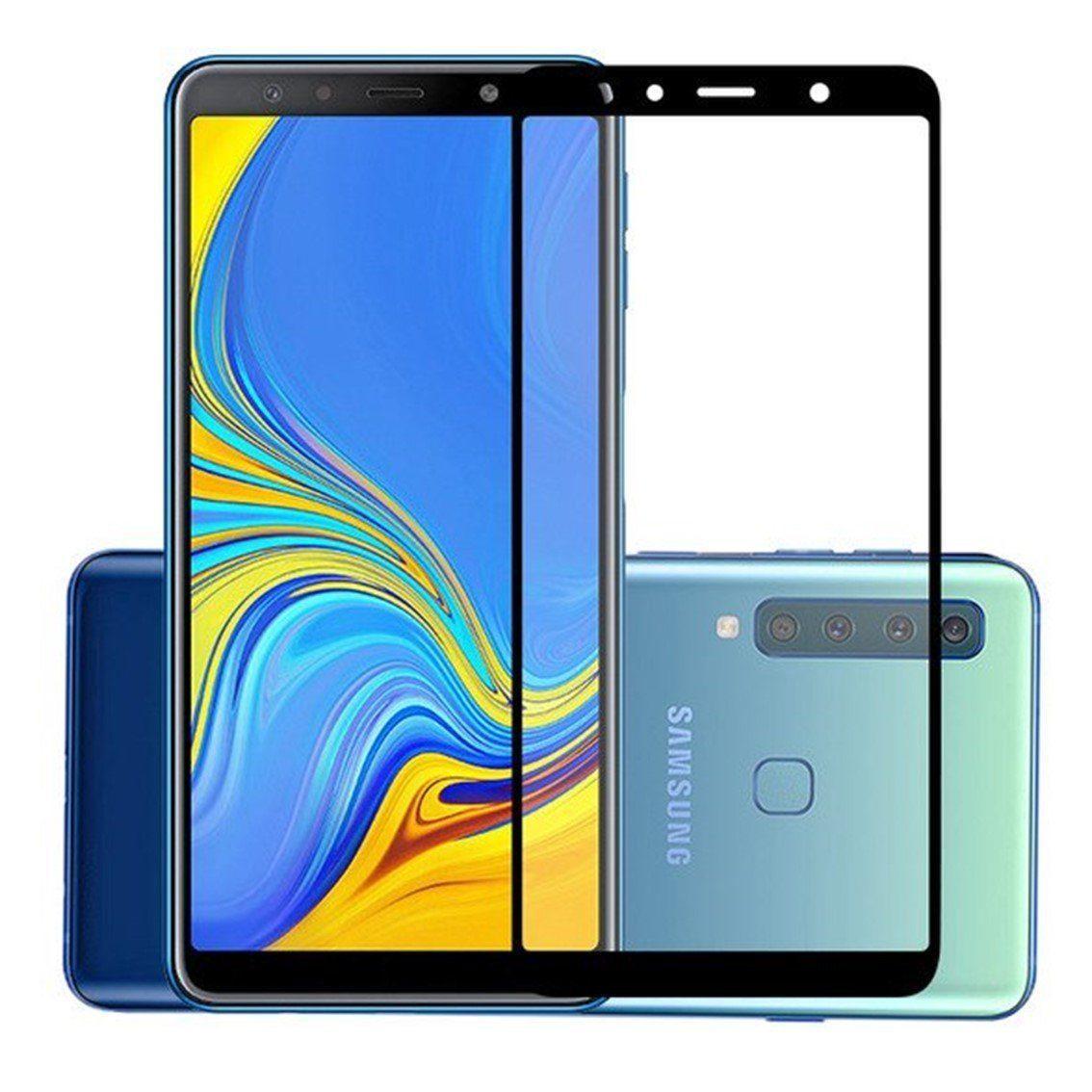 Защитное стекло Zipax 3D для Samsung Galaxy A7 (2018) / A750, черное