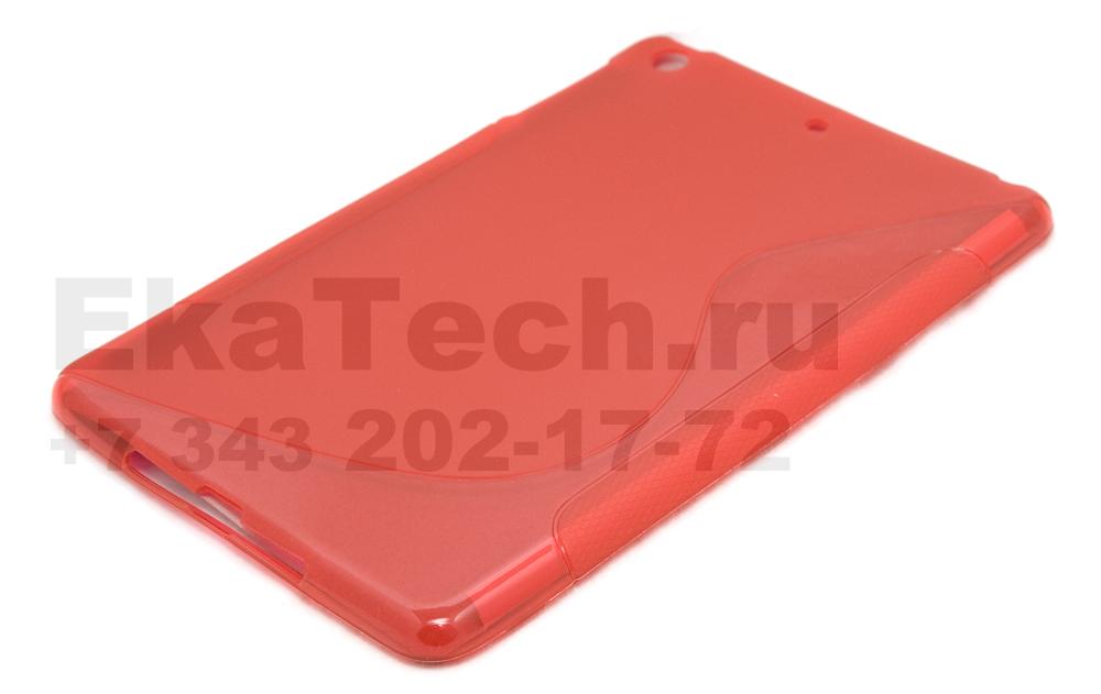 Гелевый чехол для Apple iPad mini красный