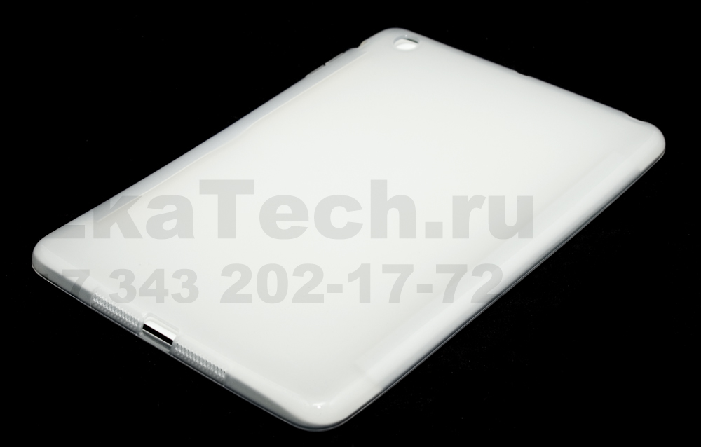 Гелевый чехол для Apple iPad mini прозрачный