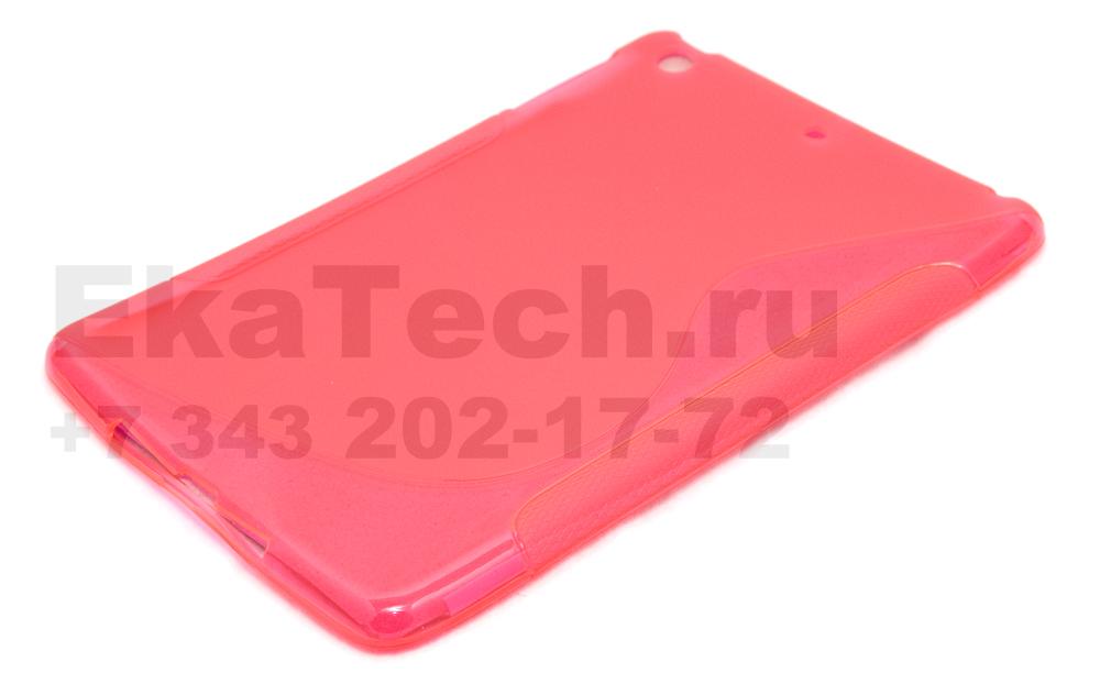 Гелевый чехол для Apple iPad mini розовый