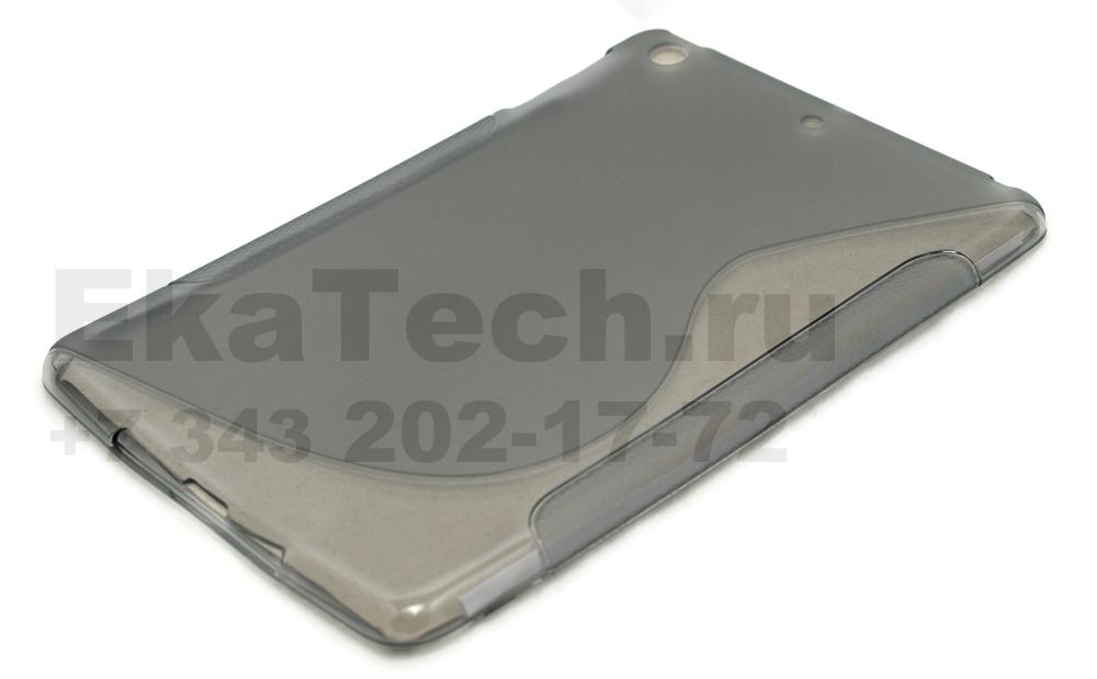Гелевый чехол для Apple iPad mini темно-серый