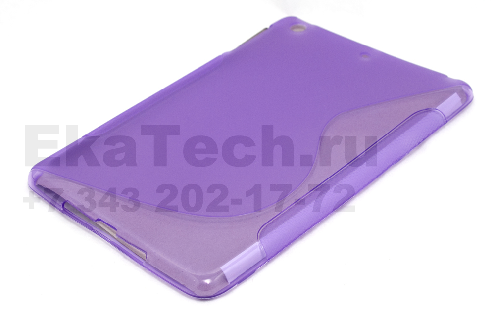 Гелевый чехол для Apple iPad mini фиолетовый