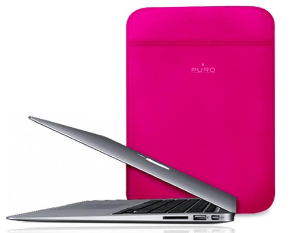 Чехол PURO Scudo Slim для Apple Macbook Air 11 розовый