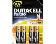 Элемент питания Duracell Turbo упаковка 4 шт Фото 1