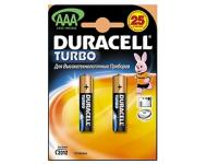 Батарейка Duracell Turbo AAA упаковка 2 шт фото 1